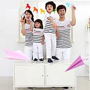 コットン/オーガニックコットン 家族用セット , 夏 非伸縮性 普通