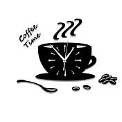 コンテンポラリー カジュアル その他 フローラル キャラクター 音楽 壁時計,ノベルティ柄 アクリル 屋内/屋外 クロック