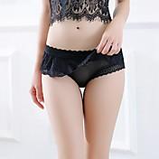 Damer Sexet G-streng og tanga Underbukser-Ensfarvet Polyester