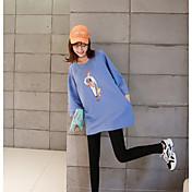 厚いの袖の符号2017春夏/緩い大きなヤードの長いセクションと小さなストレッチのセーター