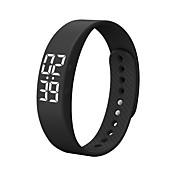 DMDG T5S Pulsera Smart Reloj SmartResistente al Agua Calorías Quemadas Podómetros Itinerario de Ejercicios Deportes Despertador