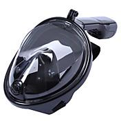 ダイビングマスク ダイビングパッケージ シュノーケル用具セット 180度 フルフェイスマスク 水泳 サーフィン ダイビング&シュノーケリング シリコーン