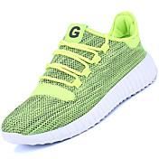 Sneakers Proljeće Ljeto Jesen Udobne cipele Svjetleće tenisice Til Aktivnosti u prirodi Atletika Ravna potpetica Plava Crvena Siva Olive