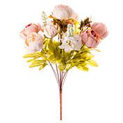 1 Podružnica Svila Peonies Cvjeće za stol Umjetna Cvijeće 50 x 30 x 30(19.69'' x 11.81'' x 11.81'')