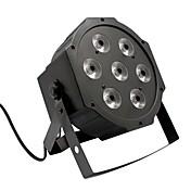 U'king® 7 rgb leds efecto de etapa 80w luz de la etapa de la iluminación iluminación automática del estroboscópico control de la voz dmx