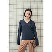 帯域幅の緩いカジュアルな女性の長袖のセーターのヘッジのバックラインの張XI春新韓国語バージョンにcimiiy