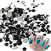 400-500pcs/bag Unha Arte Decoração strass pérolas maquiagem Cosméticos Designs para Manicure