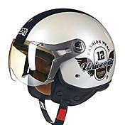 beon 100 b-casco de la motocicleta del verano la mitad del casco de Harley antivaho anti-ultravioleta del casco de seguridad de manera