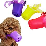 ネコ 犬 訓練 しつけ用品 アンチ犬叫 低雑音 リボン キュート パープル イエロー ピンク