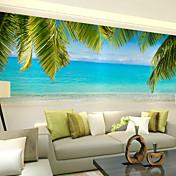 アールデコ調 3D ホームのための壁紙 現代風 ウォールカバーリング , キャンバス 材料 接着剤必要 壁画 , ルームWallcovering