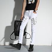 若い男性春と夏のパーソナリティカジュアルパンツフィートロングパンツタイドペンシルパンツの韓国語バージョン