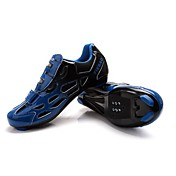 Cycling Shoes Unisex Breathable Wearable Outdoor Buckle Leatherette Cycling