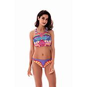 Nuevas mujeres calientes&# 39; s europeos y americanos comercio aliexpress ebay dunhuang bikini traje de baño sexy pintura