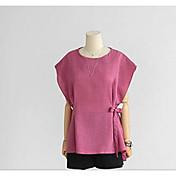 2016新しいファッション緩い大きなヤードバットスリーブコットンTシャツスリムリネンのジャケットの女性' sの夏の薄いセクション