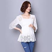 oportunidad real en el verano de 2017 la nueva versión coreana de la camisa blanca suelta cordón a cielo abierto