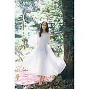スポット本物のショット春と夏の新しい韓国のドレス
