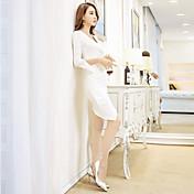 firmar nuevas señoras de moda de Corea del temperamento club nocturno atractivo paquete de la marea del vestido de la cadera primavera y