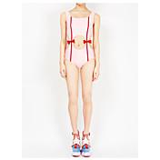El traje de baño nueva pieza deportiva profesional cubrir el traje de baño femenino del vientre pequeños estudiantes conservadores de