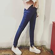 春には2017人の女性に署名' sの足は薄いパッケージ昼寝穴タイトな鉛筆のジーンズのズボン正味ました