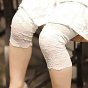 Pantalones Chica Noche Casual/Diario Colegio Un Color AlgodónTodas las Temporadas