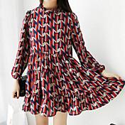 新しい春のドレスに署名