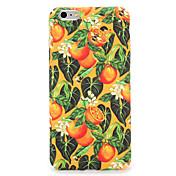 Para el caso de la contraportada del patrón de la cubierta del caso del iphone 7 7plus de la manzana fruta dura de la fruta 6s más 6 más