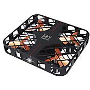 ドローン Ideafly 4CH 6軸 2.4G - ラジコン・クアッドコプター LED照明 ワンキーリターン ヘッドレスモード 360°フリップフライト ホバー 電池残量不足通知 ラジコン・クアッドコプター リモコン 取扱説明書 USBケーブル