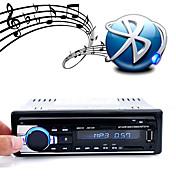 Manos libres jsd-520 multifunción autoradio coche radio bluetooth estéreo de audio en el tablero fm aux entrada de datos usb disco tarjeta