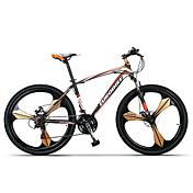 Horské kolo Cyklistika 21 Speed 26 palců/700CC SHIMANO TX30 Dvojitá kotoučová brzda Odpružená vidlice Ocelový rám Bez odpružení Běžný Ocel