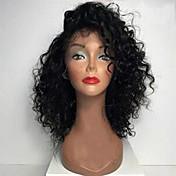 Horké prodej brazilské panenské lidské vlasy bob paruky pro černé ženy plné krajky lidské vlasy paruky kinky kudrnaté krátké bob paruky