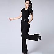 レディース ファッション ハイライズ ワイドレッグ カジュアル/普段着 ジャンプスーツ ファッション 夏