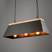 Lámparas Colgantes ,  Moderno / Contemporáneo Pintura Característica for Mini Estilo Metal Sala de estar Vestíbulo Hall 3 Bombillas