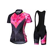 Dugi rukav Žene Bicikl Biciklistička majica Kompresivna odjeća Biciklizam Hulahopke Podstavljene kratke hlačeProzračnost Quick dry