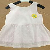 赤ちゃん 子供用 赤ちゃん 綿 ベビーシャワー 花形 ワンピース,フラワー オールシーズン