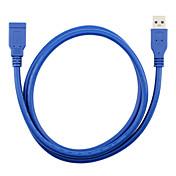 USB 3.0 Cable de extensión, USB 3.0 to USB 3.0 Cable de extensión Macho - Hembra 3,0 M (10 pies)