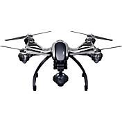 Dron Q500 4K 3 Ejes Con Cámara 1080P HD FPV Iluminación LED A Prueba De Fallos Con CámaraQuadcopter RC Mando A Distancia 1 Batería Por