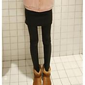 Mujer Sólido Con Forro Legging