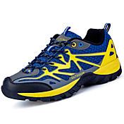 Hombre Zapatillas de Atletismo Confort Tul Primavera Otoño Senderismo Con Cordón Tacón Plano Azul Oscuro Verde claro Azul Real Marfil5 -