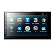 Android 6.0 reproductor de dvd del coche de 7 pulgadas con el contexto a9 del patio-núcleo 1.6ghz / radio / wifi / 4g / gps / rds