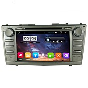 2 din capacitivo tcc lcd coche dvd player android 6.0 para toyota camry 2007-2011
