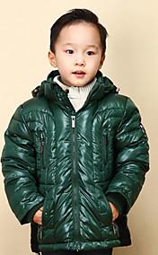 Chunyazi Lässige Solid Color Padded Coat (Grün)