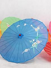 ブルー♥シルク日傘