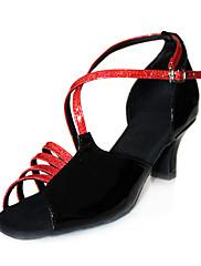 Ženske - Plesne cipele - Latin / Balska sala - Vještačka koža - Niska Heel - Šarena