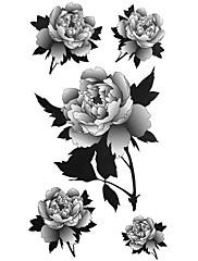 5 kom cvijet vodootporni privremeni tattoo (20cm * 10cm)