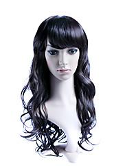 celoskleněná dlouhé vysoce kvalitní syntetické móda vlasy paruka