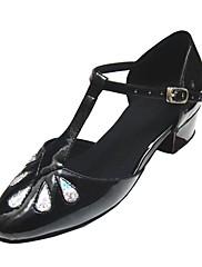 přizpůsobit výkon taneční boty koženka horní latinské boty pro děti