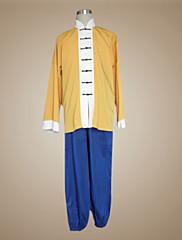 Inspirovaný Dragon Ball Muten Roshi Anime Cosplay kostýmy Cosplay šaty Patchwork Żółty Dlouhé rukávy Kabát Kalhoty Pro
