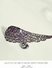 dámské retro pirát krystal křídlo kroužek