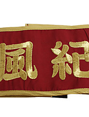 Šperky / Odznak Inspirovaný Reborn! Kyoya Hibari Anime Cosplay Doplňky Odznak Czerwony Terylen Pánský