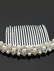 Ženy Slitina Imitace perly Přílba-Svatba Zvláštní příležitost Outdoor Hřebeny na vlasy